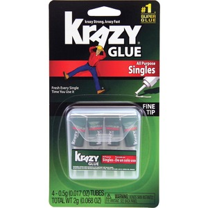 Elmer's Krazy Glue - 4 / Pack - White