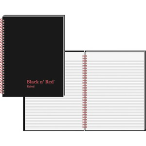 John Dickinson Black n' Red Perforated Notebook JDKK67030