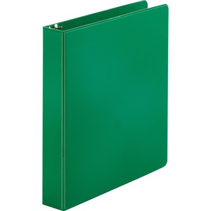 "Sparco Round Ring Binder - Letter - 8.5"" x 11"" - 1.5"" Capacity - 1 Each - Green"