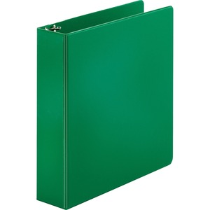 "Sparco Round Ring Binder - Letter - 8.5"" x 11"" - 2"" Capacity - 1 Each - Green"