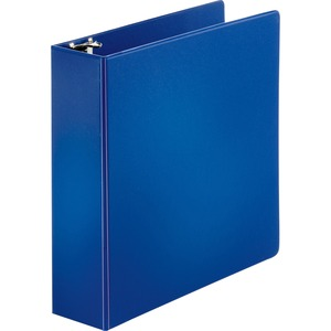 "Sparco Round Ring Binder - Letter - 8.5"" x 11"" - 3"" Capacity - 1 Each - Dark Blue"