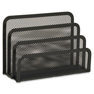 "Sparco Vertical Sorter - 5.25"" x 6.85"" x 3.25"" - Steel - Black"