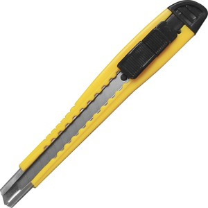 Sparco Products Sparco Fast-point Snap-off Blade Knife - Locking Blade - Yellow