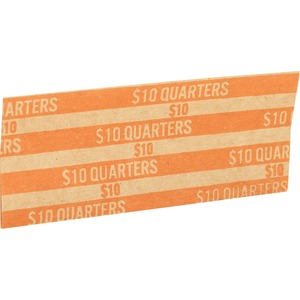 Flat $10.00 Quarters Coin Wrapper