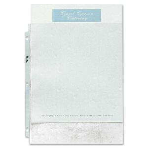 "Sparco Top Loading Sheet Protector - 9"" x 11"" - Rectangular - For Ring Binder - Polypropylene - 50 / Box - Non-glare"