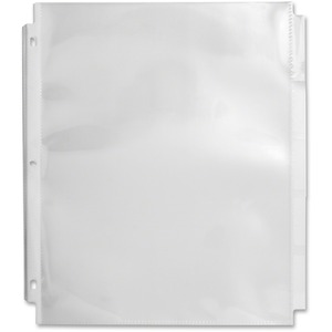 Top Loading Sheet Protectors with Index Tab