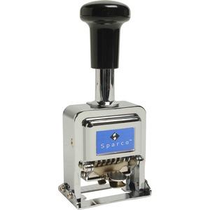 Self-Inked 6 Wheels Automatic Numbering Machine