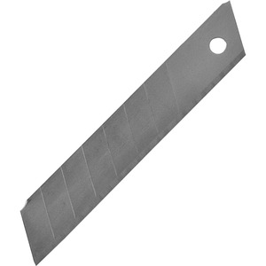 "Sparco Replacement Snap-Off Blades - 4"" x 0.5"" Thickness - Straight Style - Snap-off - Steel - 1 Pack - Silver"
