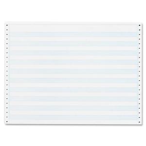 "0.5"" Blue Bar Computer Paper"