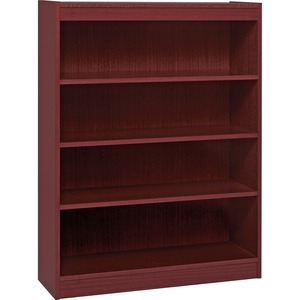 Lorell Panel End Hardwood Veneer Bookcase LLR60072