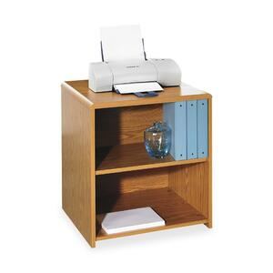 Lorell Printer Stand - Medium Oak