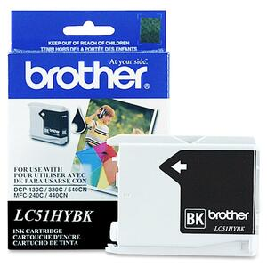 Brother Black High Capacity Ink Cartridge BRTLC51HYBK