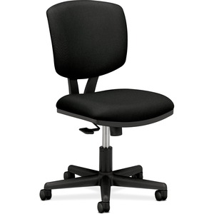 "HON Volt 5703 Multi-task Chair - Black Frame26"" x 19.25"" x 40"" - Polyester Black Seat"