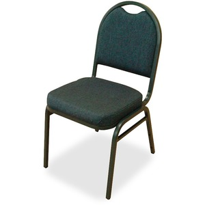 Lorell Round-Back Stack Chair LLR62514