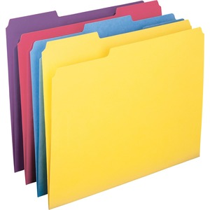 Colored Folders Single Ply Tab