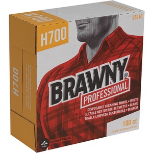 Georgia-Pacific Brawny Industrial Heavy-Duty Wipe GEP25070