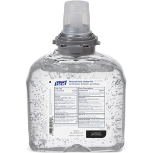 Gojo PURELL TFX Sanitizer Gel Refill - 1200mL - Clear - 1 Each