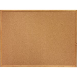 Sparco Wood Frame Cork Board SPR19767