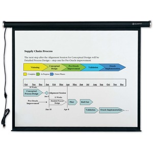 Quartet Electric Projection Screen QRT770S
