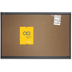 Quartet Prestige Colored Cork board QRTB247G