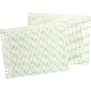 Wilson Jones Columnar Ruled Ledger Sheet WLJG5036