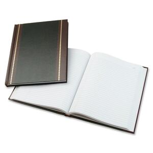"Wilson Jones S295 Record Book - 150 Sheet(s) - 10.62"" x 8.25"" Sheet Size - White - 1Each"