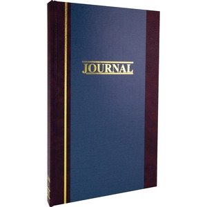 "Wilson Jones S300 2-Column Journal - 300 Sheet(s) - 11.75"" x 7.25"" Sheet Size - White - 1Each"