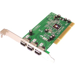 SIIG 3-port PCI 1394 FireWire Adapter NN-400012-S8