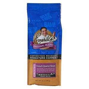 JAVA Emeril's Original Blend Signature Coffee - Arabica Beans - French Roast -  12 oz Per Bag