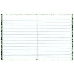 "Rediform Center Sewn Lab Notebook - 96 Sheet(s) - Wide Ruled - 7.12"" x 10.12"" - 1 Each - White"
