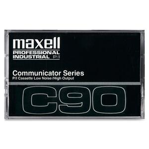 Maxell 90 Minutes Communicator Series Audio Cassette MAX102211