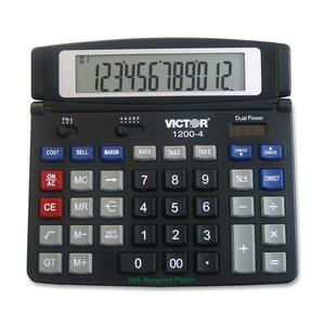 Victor 1200-4 Desktop Calculator VCT12004