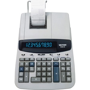 Victor 1530-6 Heavy Duty Commercial Printing Calculator VCT15306