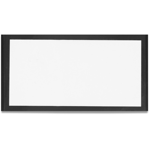 "TATCO Magnetic Label Holder - 2.5"" x 4.37"" - Vinyl - 10 / Pack - White"