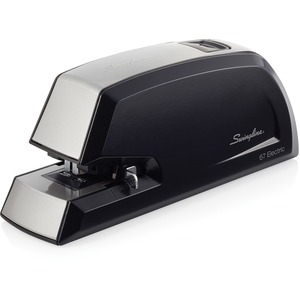 Swingline 67 Electric Automatic Commercial Stapler - Electric Stapler - 20 Sheets Capacity - 210 Staple Capacity - 1/4&quot; Staple Size - Black