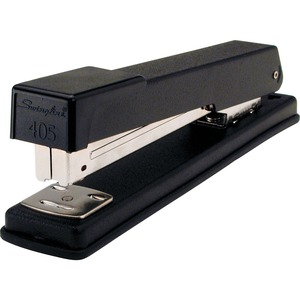 Swingline All Metal Full-Strip Desk Stapler - Desktop Stapler - 20 Sheets Capacity - 210 Staple Capacity - 1/4&quot; Staple Size - Black