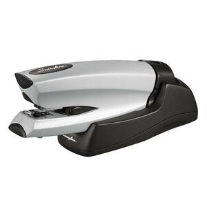 Swingline Cordless Rechargeable Electric Stapler - Electric Stapler - 20 Sheets Capacity - 210 Staple Capacity - 1/4&quot; Staple Size - Silver