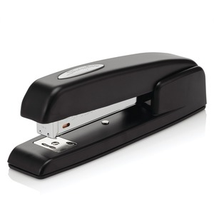 Swingline 747 Ergonomic Business Stapler - Desktop Stapler - 20 Sheets Capacity - 210 Staple Capacity - 1/4&quot; Staple Size - Black
