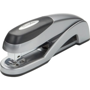 "Swingline Optima Desktop Stapler - Desktop Stapler - 25 Sheets Capacity - 210 Staple Capacity - 1/4"" Staple Size - Silver"