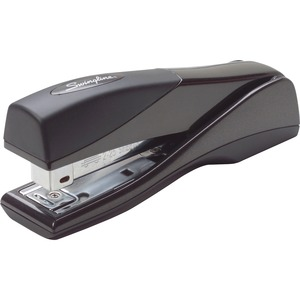 "Swingline Optima Grip Stapler - Desktop Stapler - 25 Sheets Capacity - 210 Staple Capacity - 1/4"" Staple Size - Black"