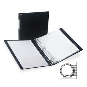 Samsill Antimicrobial Locking Round Ring Binder SAM14350