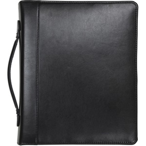 Samsill Regal Leather Zipper Binder SAM15540