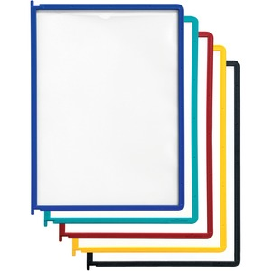 Durable InstaView Display Reference System Insert - 10 Panels - Letter SizeAssorted
