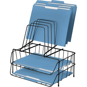 Fellowes Wire Double Tray with Step File FEL72391