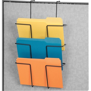 Wire Partition Additions Triple File Pocket