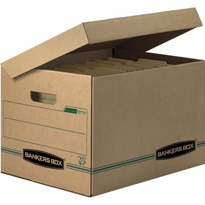 Bankers Box Recycled Systematic - Letter/Legal - TAA Compliant FEL12772