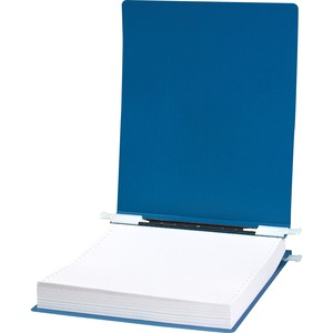 "Acco Accohide Unburst Data Binder - 8.5"" x 12"" - 6"" Capacity - 1 Each - Blue"