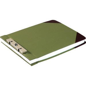 "Wilson Jones Slotted Lock Post Binder - Letter - 8.5"" x 11"" - 3"" Capacity - 1 Each - Green"