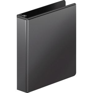 "Wilson Jones Dubllock D-ring View Binder - Letter - 8.5"" x 11"" - 1.5"" Capacity - 1 Each - Black"