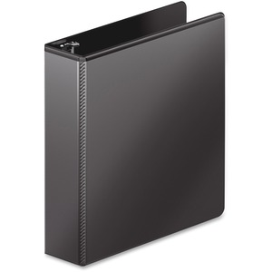 "Wilson Jones Dubllock D-ring View Binder - Letter - 8.5"" x 11"" - 540 Sheet x 2"" Capacity - 1 Each - Black"